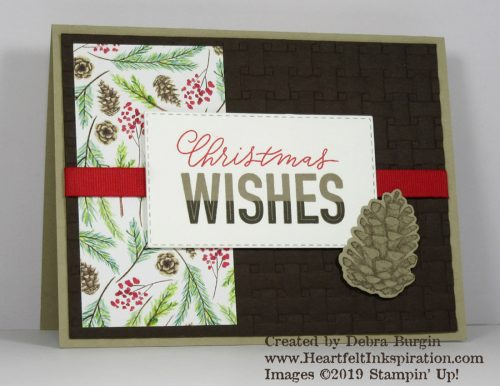 More Than Words | Painted Seasons | Love this Sale-A-Bration bundle, and the sentiment set that coordinates is wonderful!  My secret weapon for perfect alignment of these 2- and 3-step stamps is the Stamparatus.  Please click to read more! | Stampin' Up! | HeartfeltInkspiration.com | Debra Burgin