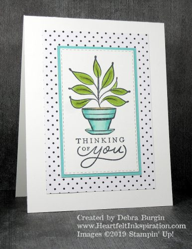 Just Because | The images in this host-only set are much bigger than they appear in the 2019 Occasions Catalog!  They are beautiful for coloring with your choice of medium.  Please click to read more! | Stampin' Up! | HeartfeltInkspiration.com | Debra Burgin