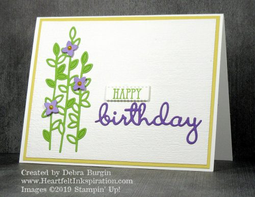 "Well Said | Well Written Framelits | Don't overlook the ""filler"" dies in a set.  I wouldn't have expected these lovely stems in a set of mostly words!  Please click to read more! 